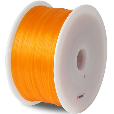Flashforge™ BuMat™ Elite 1.75 mm 2.2lbs. ABS Filament With Spool For FFF 3D Printer, Orange