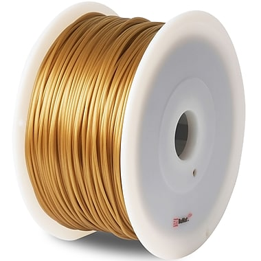 Flashforge™ BuMat™ Elite 1.75 mm 2.2lbs. PLA Filament With Spool For FFF 3D Printer, Gold
