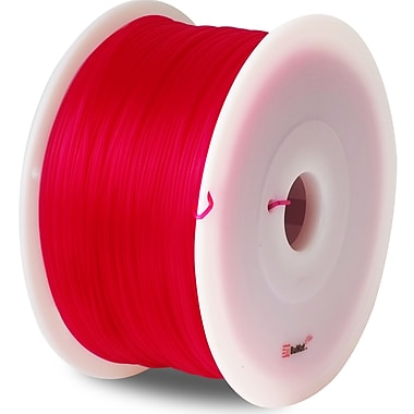Flashforge™ BuMat™ Elite 1.75 mm 2.2lbs. PLA Filament With Spool For FFF 3D Printer, Red