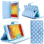 "i-Blason Apple iPhone 6 and 6s 4.7"" Case - Slim Leather Book Wallet Cover - Dal Blue"