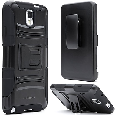 i-Blason Prime Dual Layer Holster Case With Kickstand For Samsung Galaxy Note III, Black