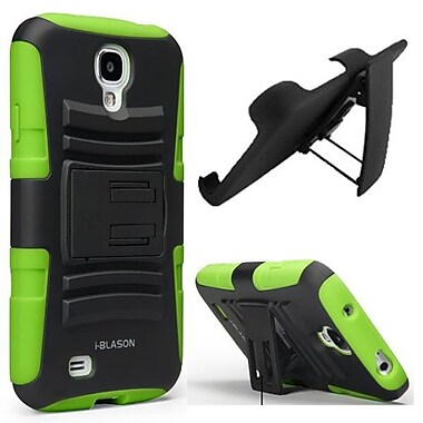 i-Blason Prime Dual Layer Holster Case With Kickstand For Samsung Galaxy S4, Green
