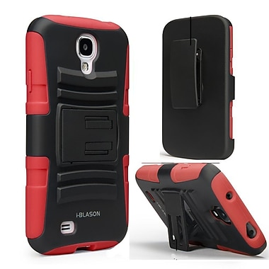 i-Blason Prime Dual Layer Holster Case With Kickstand For Samsung Galaxy S4 Active, Green