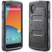i-Blason Armorbox Dual Layer Hybrid Protective Case & Screen For Google Nexus 5, Black