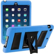 i-Blason IPAD5-ABH-BLUE Silicone Case for Apple iPad Air, Blue/Black