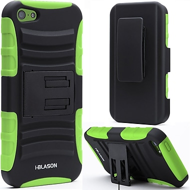 i-Blason Prime Series Dual Layer Holster Case With Belt Clip For iPhone 5C, Green