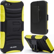 i-Blason Prime Series Dual Layer Holster Case With Belt Clip For iPhone 5C, Yellow