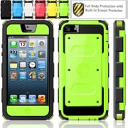 i-Blason Armorbox Dual Layer Hybrid Protective Case For iPhone 5C, Green