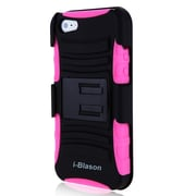 i-Blason Prime Series Dual Layer Holster Case With Belt Clip For iPhone 5/5S, Pink