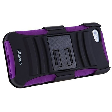 i-Blason Prime Series Dual Layer Holster Case With Belt Clip For iPhone 5/5S, Purple