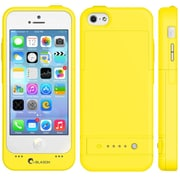 i-Blason PowerGlider Rechargeable Battery Case With USB Charging Port For iPhone 5C, Yellow