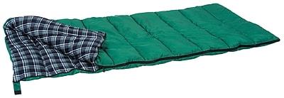 Stansport™ Weekender Rectangular Sleeping Bag, Forest Green