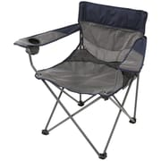Stansport™ Apex Deluxe Oversize Arm Chair, Navy/Gray