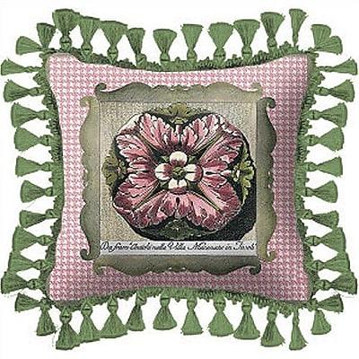 Fine Art Tapestries Medallion Throw Pillow