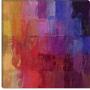 iCanvas Modern Watercolors Graphic Art on Canvas; 37'' H x 37'' W x 0.75'' D