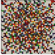 iCanvas Modern cPixilated Tile Colorful Cluster Modern Graphic Art on Canvas