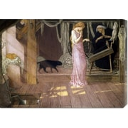 Global Gallery 'Sleeping Beauty' by John Dixon Batten Painting Print on Wrapped Canvas