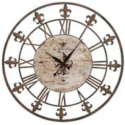 Aspire Oversized 36'' Sun Dial Wall Clock