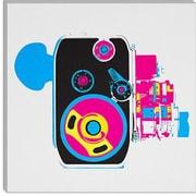 iCanvas Modern Music Box Modern Graphic Art on Canvas; 18'' H x 18'' W x 0.75'' D