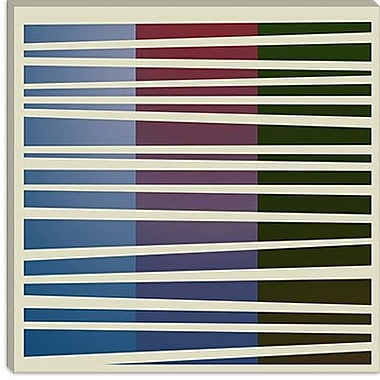 iCanvas Modern Dusk Concept Graphic Art on Canvas; 12'' H x 12'' W x 0.75'' D