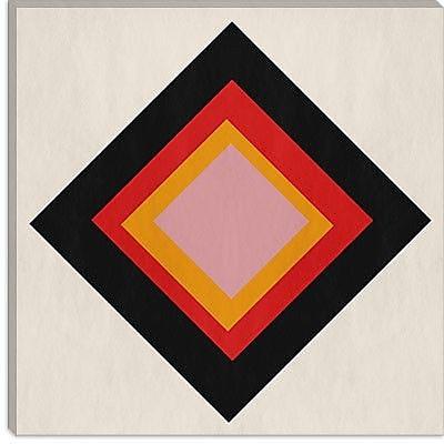 iCanvas Modern Diamond Void Graphic Art on Canvas; 18'' H x 18'' W x 1.5'' D