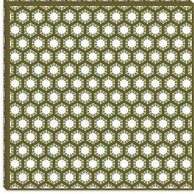 iCanvas Modern Honeycomb Graphic Art on Canvas; 18'' H x 18'' W x 1.5'' D