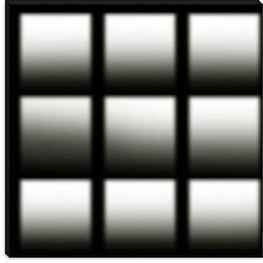 iCanvas Modern Cuboids ll Graphic Art on Canvas; 18'' H x 18'' W x 1.5'' D
