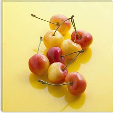 iCanvas Food and Cuisine Rainier Cherries Photographic Print on Canvas; 12'' H x 12'' W x 0.75'' D