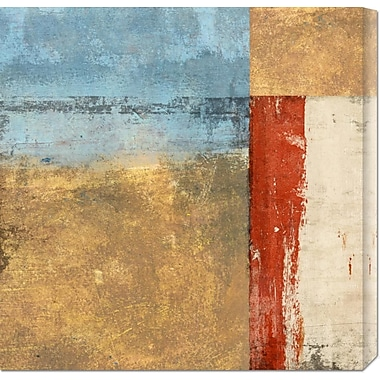 Global Gallery 'Direction I' by Alessio Aprile Painting Print on Wrapped Canvas