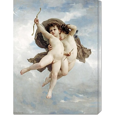 Global Gallery 'L'Amour Vainqueur' by William Adolphe Bouguereau Painting Print on Wrapped Canvas
