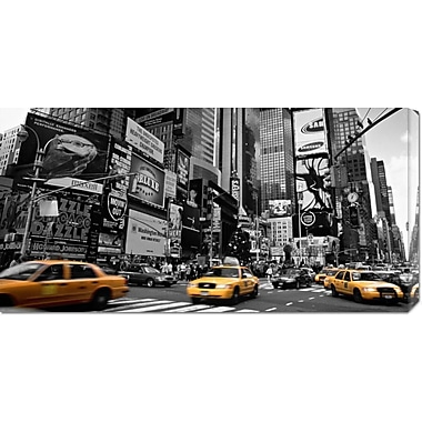 'Times Square, New York City, USA' by Doug Pearson Photographic Print on Wrapped Canvas