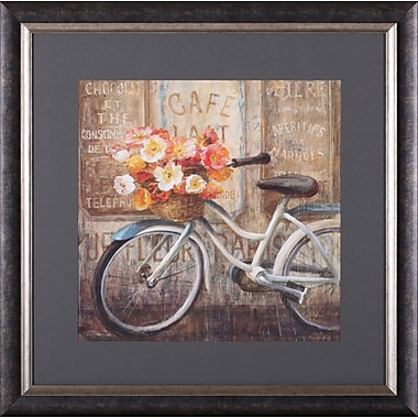 Art Effects Meet Me at Le Caf II by Danhui Nai Framed Painting Print