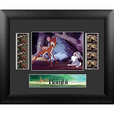 Trend Setters Bambi Double FilmCell Presentation Framed Vintage Advertisement