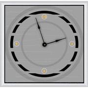 Green Leaf Art Circle Way 16'' Art Wall Clock