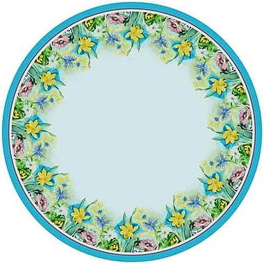 Betsy Drake Interiors Florals Round Tablecloth; 68'' W Round