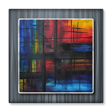 All My Walls 'Over The Rainbow' by Megan Duncanson Graphic Art Plaque