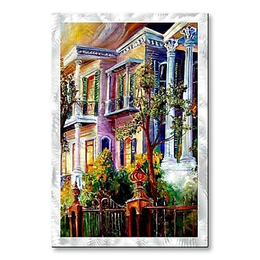 All My Walls 'Garden District Sunset' by Diane Millsap Painting Print Plaque