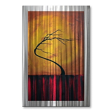 All My Walls 'Wild Winds' by Megan Duncanson Graphic Art Plaque