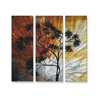 All My Walls 'Serengeti Dreams' by Megan Duncanson 3 Piece Graphic Art Plaque Set