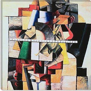 iCanvas ''M. Matuischin'' by Kazimir Malevich Graphic Art on Canvas; 26'' H x 26'' W x 0.75'' D