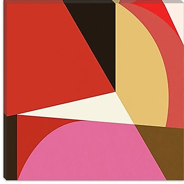 iCanvas Modern Acrobat lll Graphic Art on Canvas; 12'' H x 12'' W x 1.5'' D