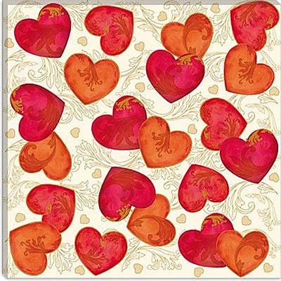 iCanvas ''Love Divine'' by Maria Trad Graphic Art on Canvas; 18'' H x 18'' W x 0.75'' D