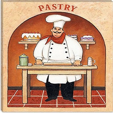 iCanvas ''Pastry'' by John Zaccheo Graphic Art on Canvas; 26'' H x 26'' W x 0.75'' D
