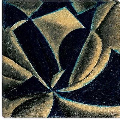iCanvas ''Movement No. 1'' by Arthur Dove Graphic Art on Canvas; 26'' H x 26'' W x 0.75'' D