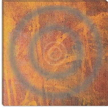 iCanvas 'Circle I' by Erin Clark Graphic Art on Canvas; 12'' H x 12'' W x 0.75'' D