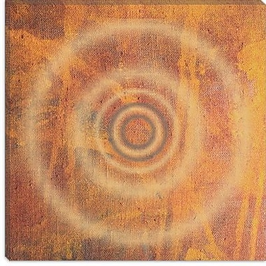 iCanvas 'Circle II' by Erin Clark Graphic Art on Canvas; 26'' H x 26'' W x 0.75'' D