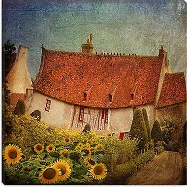 iCanvas ''Gardenhouse Chenonceau'' Canvas Wall Art by Dawne Polis; 12'' H x 12'' W x 1.5'' D