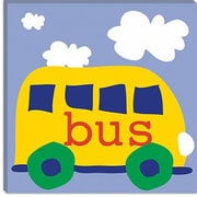 iCanvas Erin Clark ''Yellow School Bus'' Canvas Wall Art; 26'' H x 26'' W x 0.75'' D