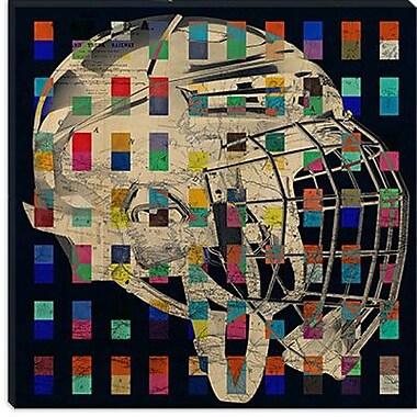 iCanvas Canada Hockey Mask #5 Graphic Art on Canvas; 18'' H x 18'' W x 0.75'' D