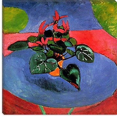 iCanvas ''Cyclamen Pourpre'' 1912 Canvas Wall Art by Henri Matisse; 18'' H x 18'' W x 0.75'' D
